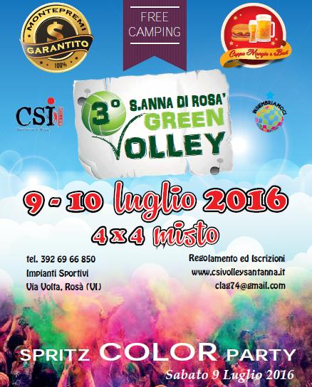 Scendi in campo al Sant' Anna di Rosà Green Volley!