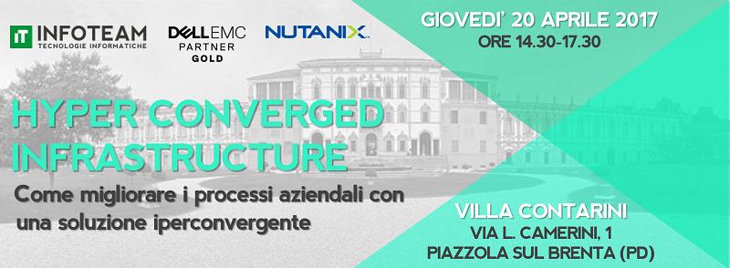 Workshop: Hyper Converged Infrastructure, 20 Aprile 2017