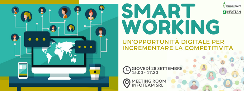 Workshop: Smart Working, 28 Settembre 2017