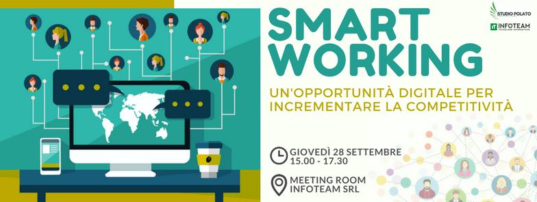Workshop: Smart Working, 28 Settembre 2017