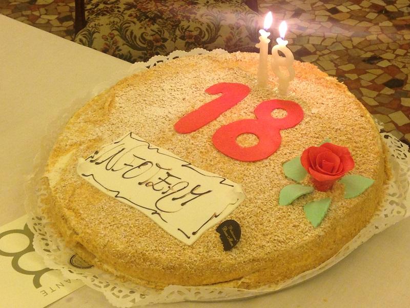 Buon diciottesimo compleanno Infoteam!