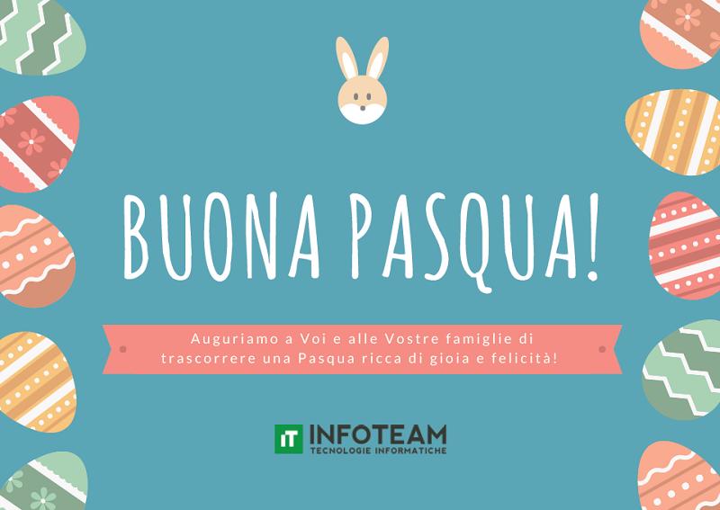 Buona Pasqua da Infoteam!