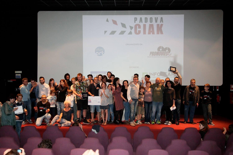 Grande serata finale per PadovaCiak