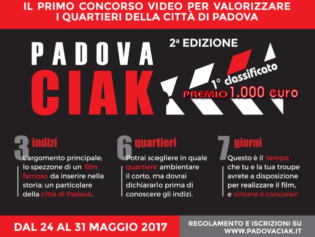Infoteam sponsor della seconda edizione di PadovaCiak