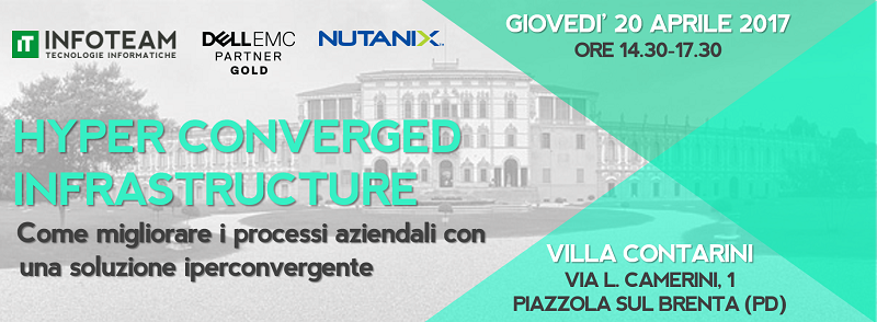 Workshop: Hyper Converged Infrastructure, 20 Aprile 2017
