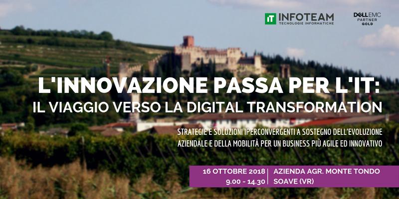 Evento: L'innovazione passa per l'IT, 16 Ottobre 2018