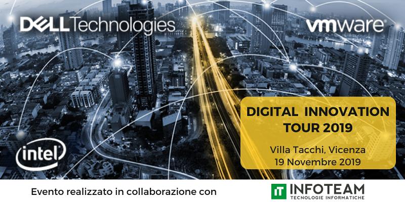 Evento: Digital Innovation Tour, 19 Novembre 2019